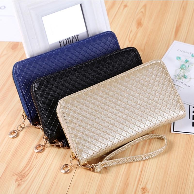 THINKTHENDO Fashion Women Zipper Long Purse Ladies Clutch Coin Phone Bag Wallet Card Holder new original ro60m bt30 vnp6x2 h1151