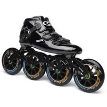Japy Cityrun скоростные роликовые коньки из углеродного волокна, профессиональные коньки для соревнований, 4 колеса, гоночные коньки