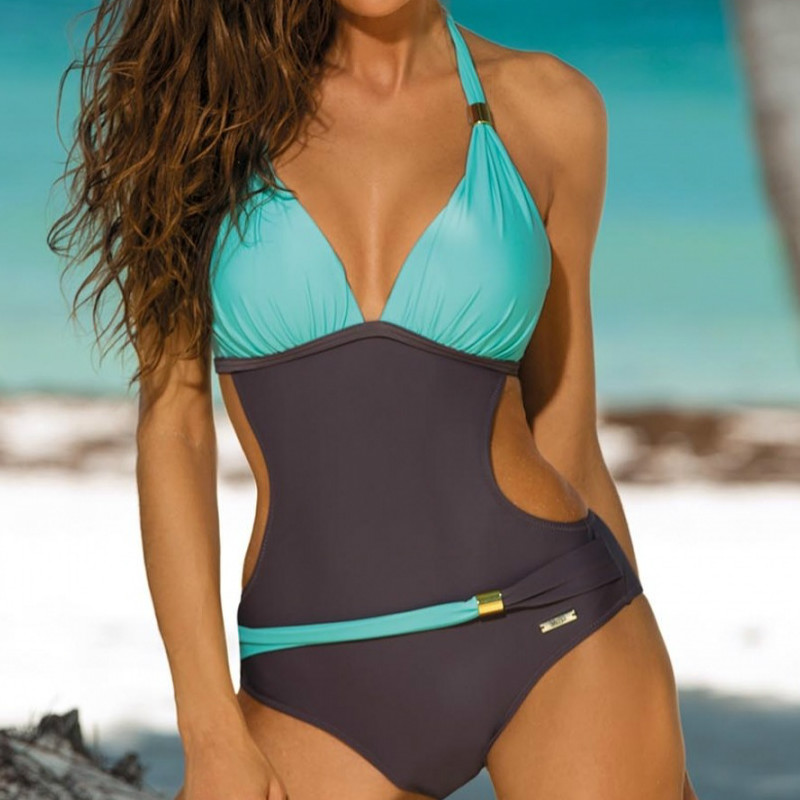 Hot Sale May <font><b>Women</b></font> Fused <font><b>Sexy</b></font> <font><b>One</b></font> <font><b>Piece</b></font> <font><b>Swimsuit</b></font> Female Backless Brazilian <font><b>Women's</b></font> <font><b>Swimsuits</b></font> Woman <font><b>2019</b></font> Swimwear Monokini Badpak image