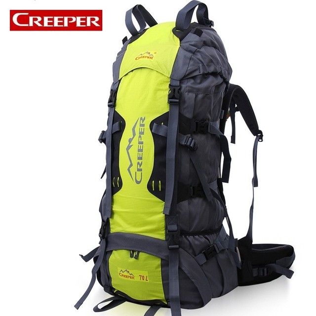 Large Capacity 70L Outdoor Camping Unisex Bag Military Tactical Backpack  For Women Men Waterproof Fishing Climbing 62b38462bc