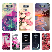 Phone Case For LG G6 Soft Silicone TPU Cool Pattern Painted Coque For LG G6 Case аксессуар чехол brosco для lg g6 black lg g6 book black