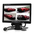 DIYKIT DC12V-24V 7 Inch 4 Split Quad LCD Screen Display Color Rear View Car Monitor For Car Truck Bus Reversing Camera