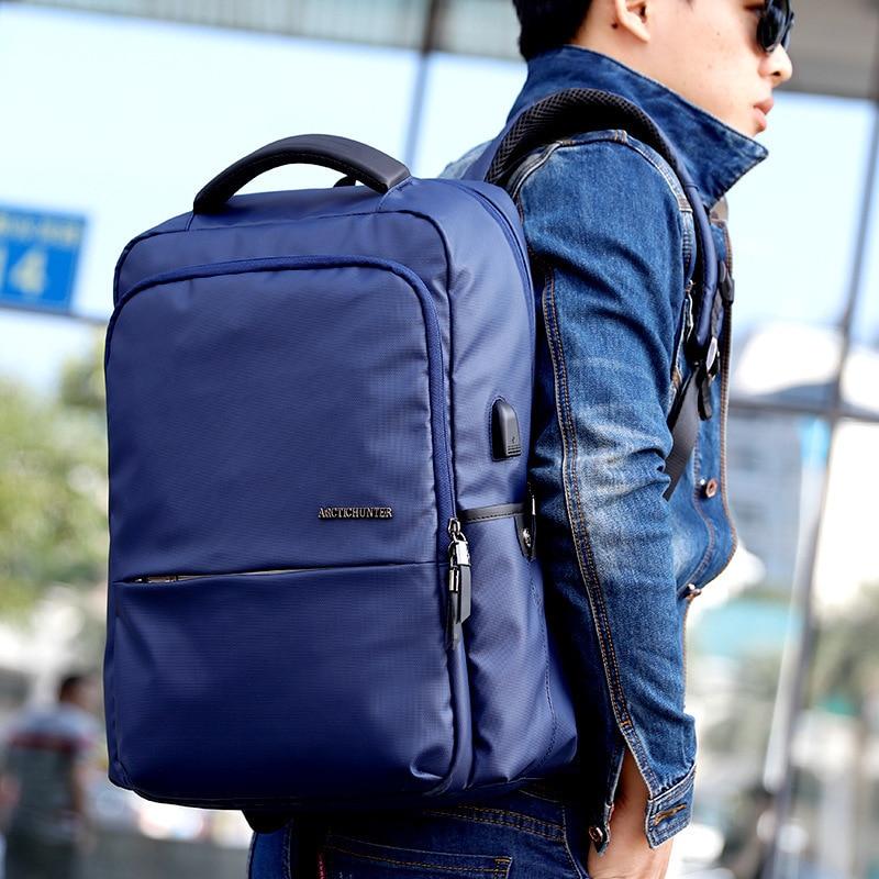 ARCTIC HUNTER 2018 New Fashion Backpacks waterproof Back pack laptop Bag mans bag Casual Travel Backpack Male School B00069 все цены