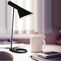 Новый Крытый настольная лампа современный свет таблицы Творческий AJ Современные Бра офисные лампы светодиодные лампы Бесплатная