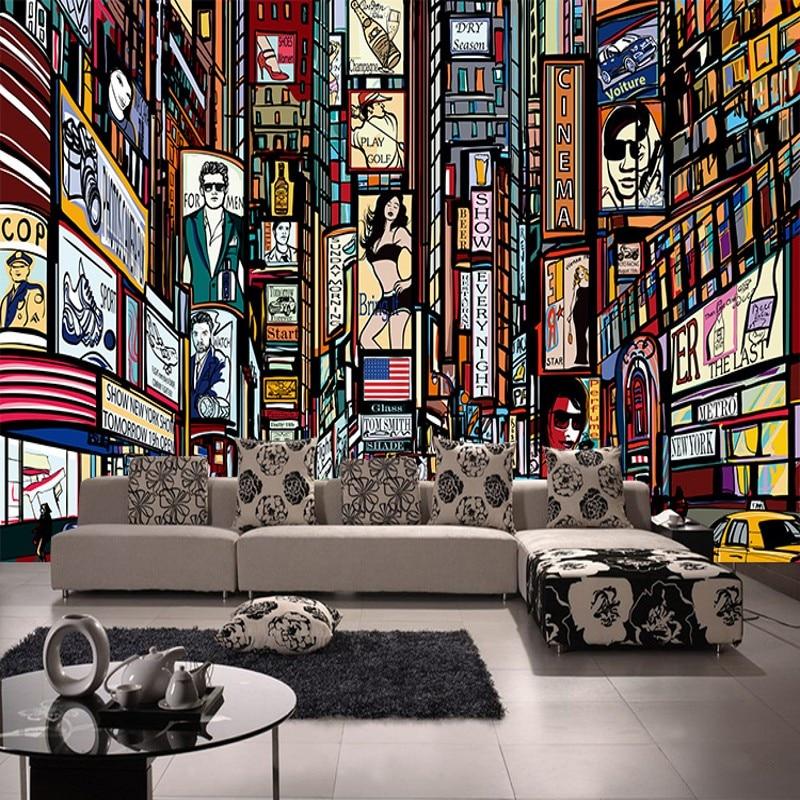 online get cheap library wallpaper mural -aliexpress   alibaba