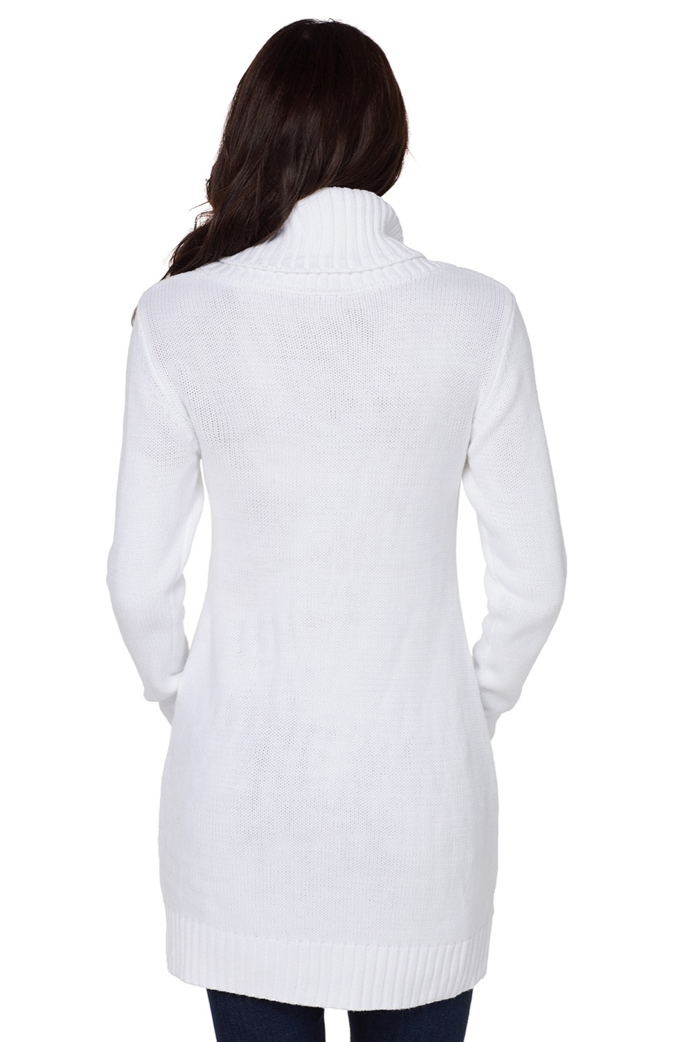 White-Cowl-Neck-Cable-Knit-Sweater-Dress-LC27836-1-2