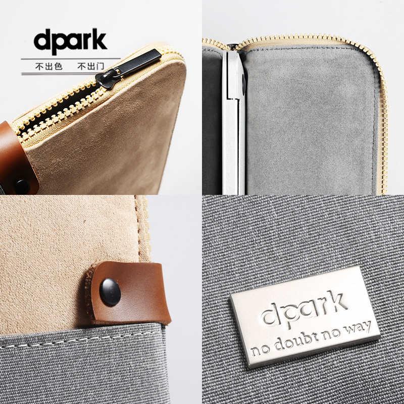 Dpark محمول حالات رجل دفتر الداخلية حقيبة غطاء للأكمام الحقيبة ل 12 13 14 15 بوصة محمول يحمل أكياس