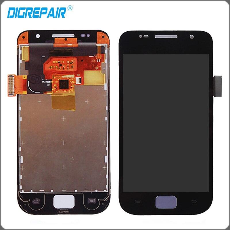 imágenes para Negro para Samsung Galaxy SL i9003 LCD de Pantalla Táctil Con Digitalizador Asamblea Reemplazo Envío Gratis