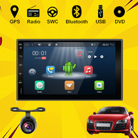 2GHZ CAPACITIVE Android 4 1 Dual CPU 2 Din Car DVD PC Stereo Radio GPS WiFi