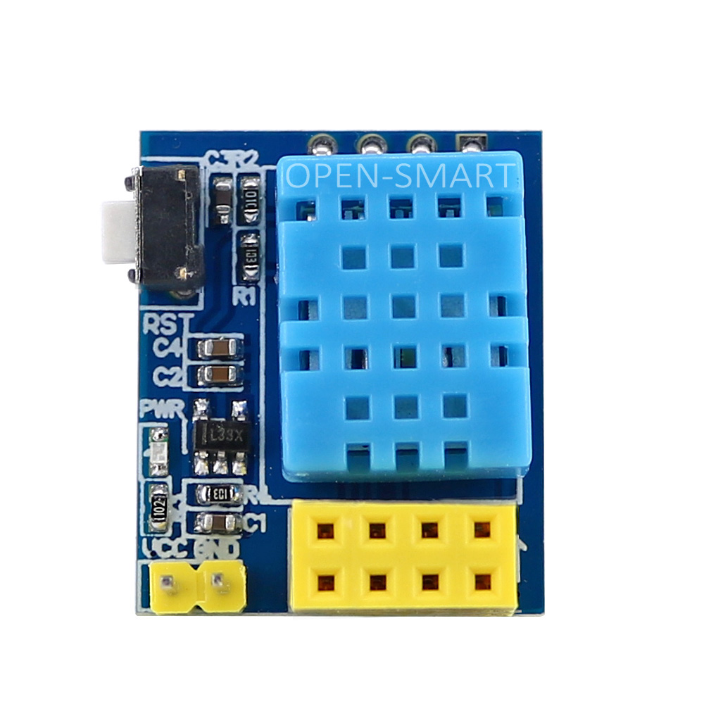 OPEN-SMART DHT11 Module Digital Temperature And Humidity Sensor Module For ESP8266 Wifi ESP-01 ESP-01S ESP8285 ESP-1