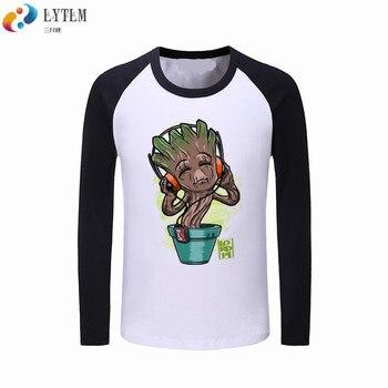 a67b49d87 LYTLM Groot T camisa para niños