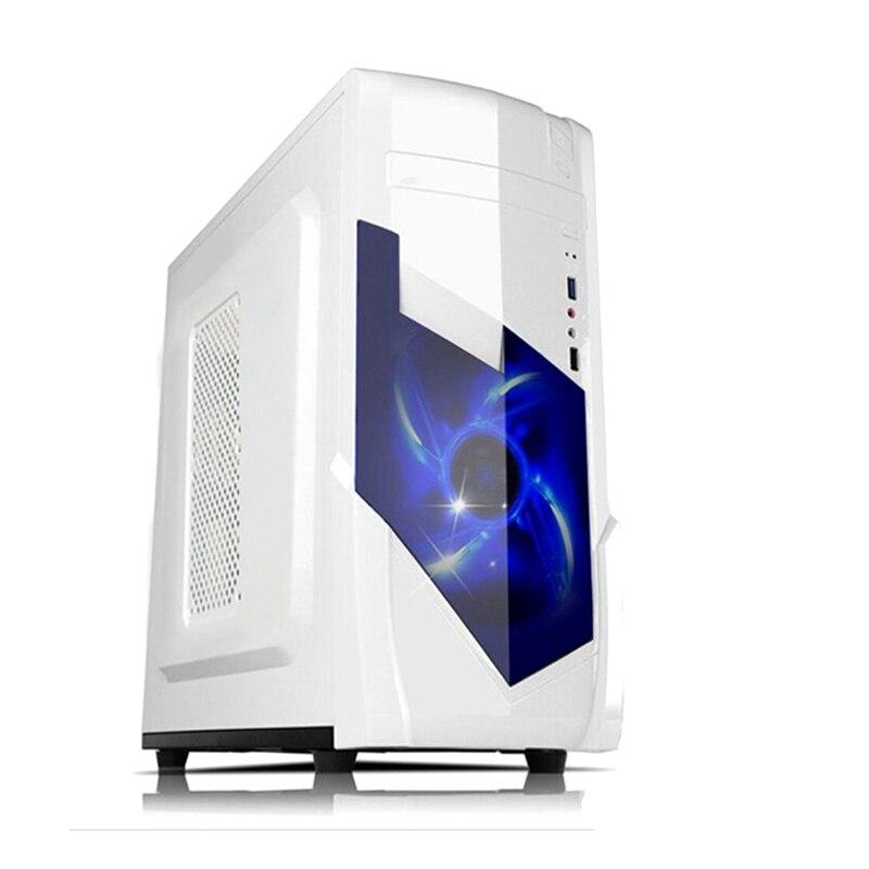 Новый Круглый охлаждения ATX случае игровой компьютер для M-ATX плат вертикальный Micro ATX настольного ПК компьютер gamer случае
