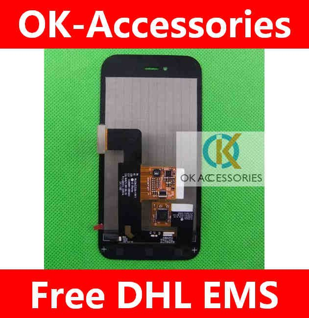ФОТО Black Color Touch Screen Digtizer+LCD for LG E730 10pcs/lot free shipping by DHL EMS
