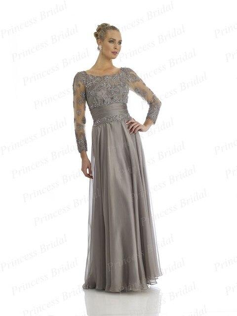 Платье с рукавом от дизайнеров