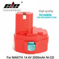ELEOPTION 14.4 Volt 2000mAh NI-CD batterie d'outil électrique pour MAKITA 14.4 V batterie pour Makita PA14, 1422,1420, 192600-1, 6281D, 6280D