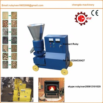 roller  moving MKL295 wood pellet machine with CE 120 150kg h poultry farm equipment animal feed pellet machine cheap price floating fish feed pellet making machine