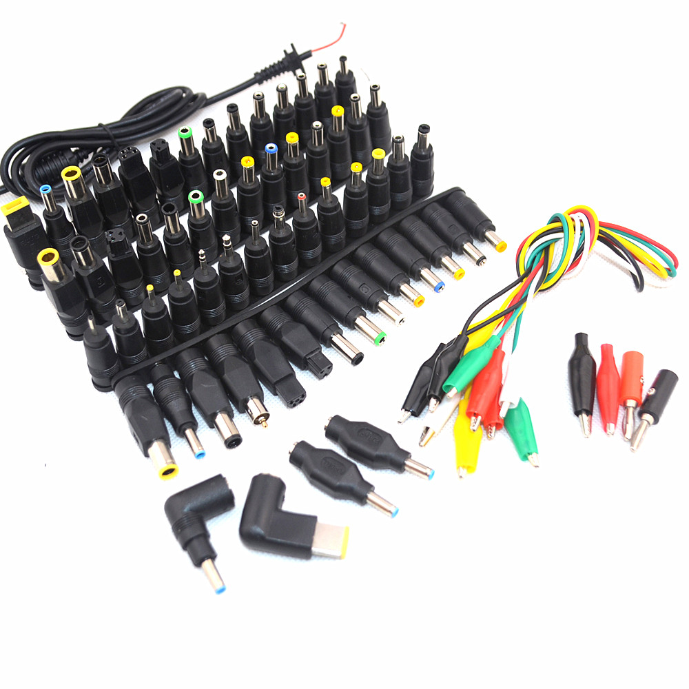 69 pcs Universal Laptop DC Power Supply Adapter Connector Plug AC DC conversion head Jack Charger