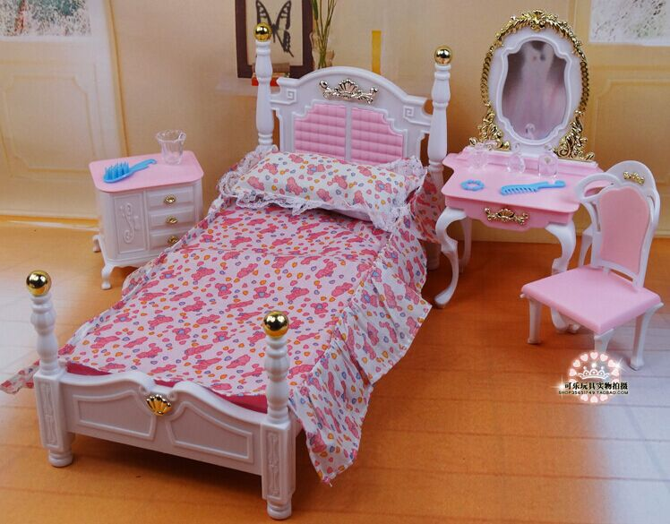 Large Deluxe Nightstand No Carving Bebe Furniture Home Gallery S Source New Design Princess Bed Dresser Chair Set Dollhouse