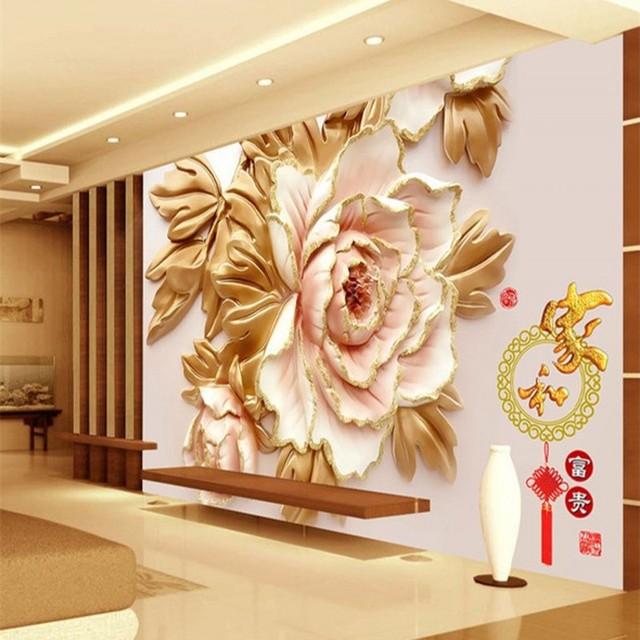 aliexpress : buy beibehang 3d three dimensional living room tv