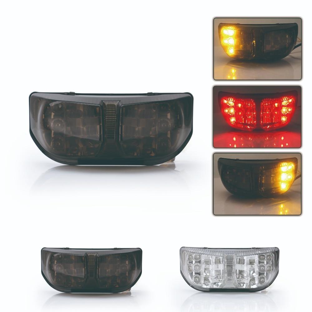 SPEEDPARK Motorcycle Rear taillight Tail Brake Turn Signals Integrated Led Light Lamp For Yamaha FZ1 FZ8 2006-2012