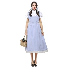 The Wizard of OZ Dorothy Costume Halloween S- XXXL Fancy Suspender Fairy Tale And Magic  sc 1 st  AliExpress.com & Buy dorothy oz costume and get free shipping on AliExpress.com