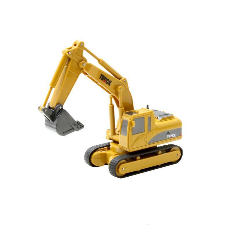 <font><b>Impulls</b></font> Mini RC Truck Rc Hydraulic Excavator Remote Control <font><b>Car</b></font> Crawler Educational Toys Toddler Toys for Boys for Children FSWB image