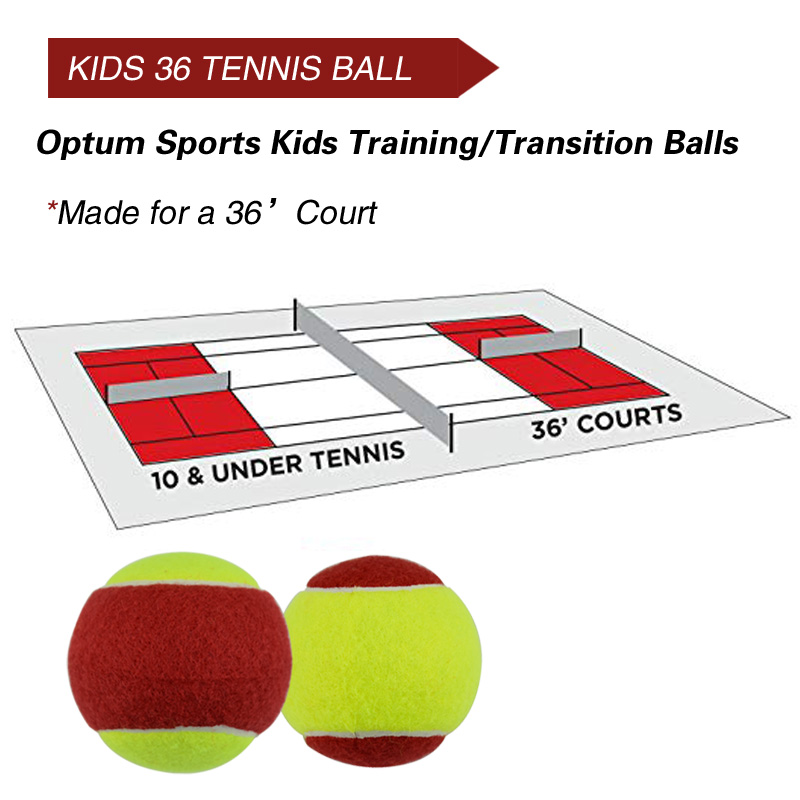 12pcs Beginner Child or Adult Training (Transition) Practice Tennis Balls (25%-75% Slower Ball Speed) 24
