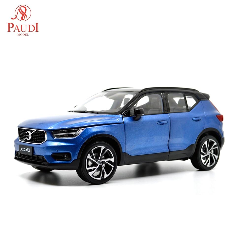 Paudi Model 1/18 1:18 Scale Volvo XC40 2018 Blue Diecast Model Car Toy Model Car Doors OpenPaudi Model 1/18 1:18 Scale Volvo XC40 2018 Blue Diecast Model Car Toy Model Car Doors Open