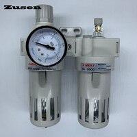 Zusen BFC 2/3/4000 spray molding1/4' 3/8' 1/2' Compressor Air Pneumatic Adjustable Filter Regulator Lubricator Control Units FRL