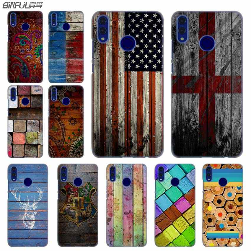 Fashion luxury Phone cose cover for Huawei Honor 10i 8 8X 9X 10 Lite 4C 5X 6 6X 6C 7a 20 Pro 7X Wood Pattern