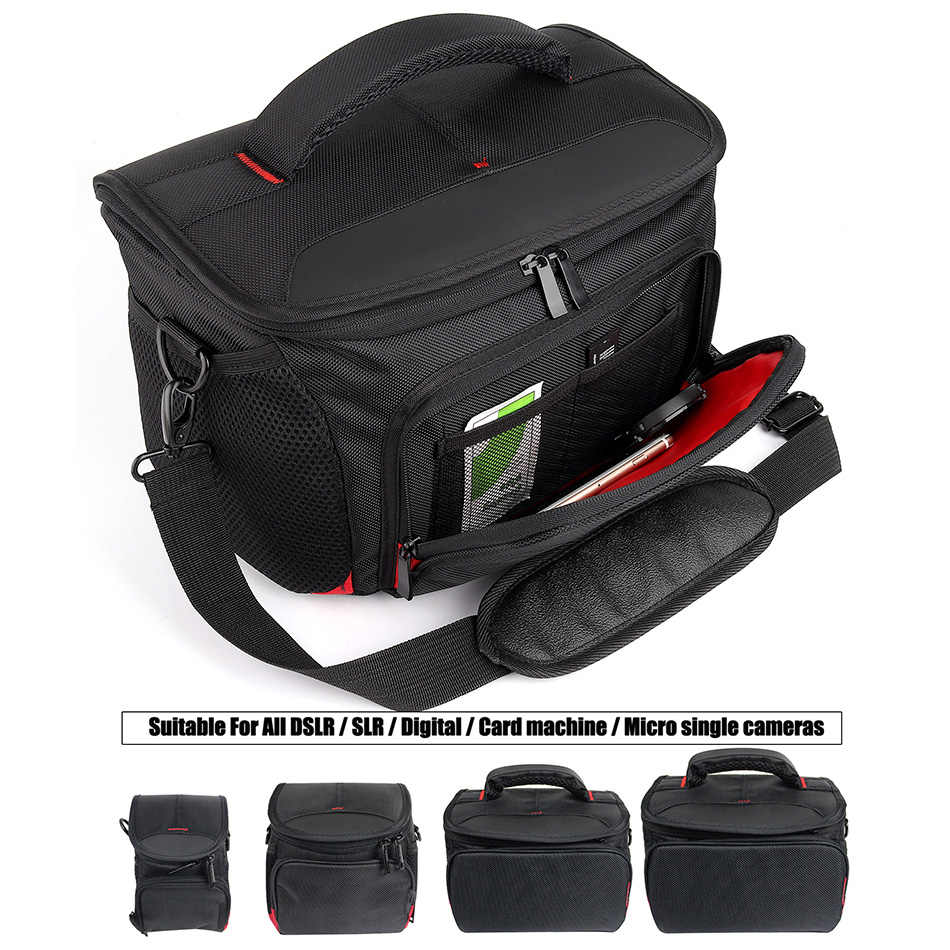 DSLR Camera Bag Photo Backpack For Canon 1300D 750D 6D 5D Mark ii iii iv M6 M10 M100 T6 SX60 G7X Mark II Canon Camera Bag