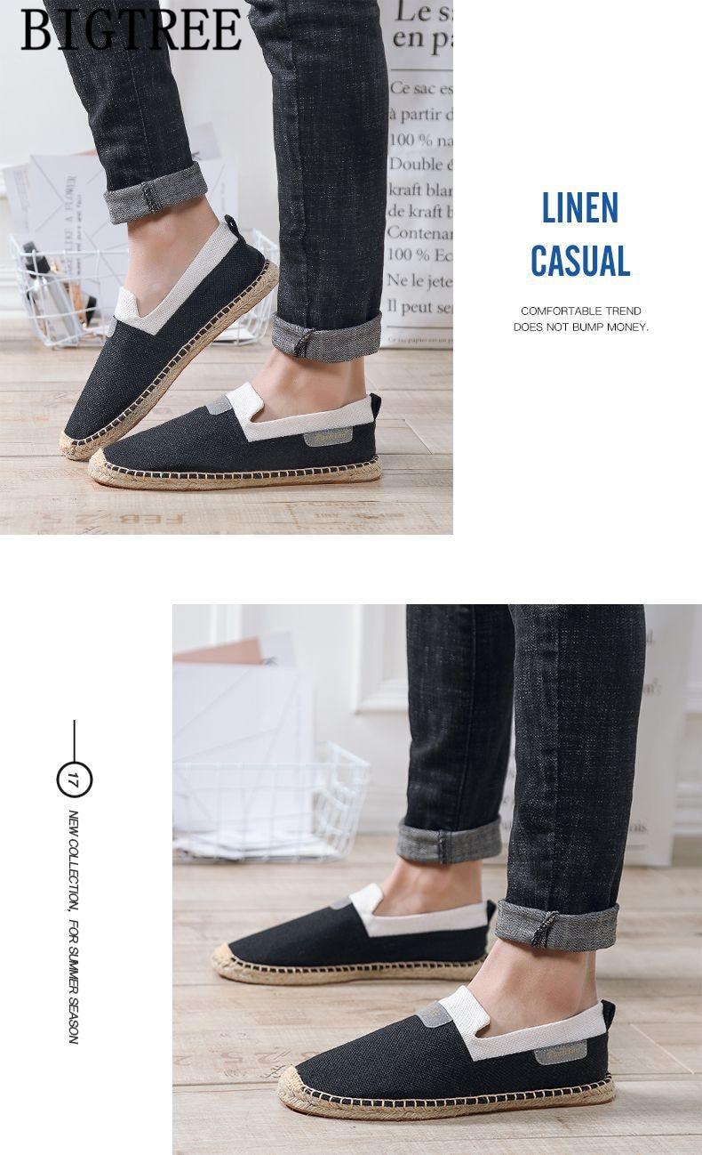 Bağcıksız ayakkabı erkek mokasen ayakkabıları kanvas