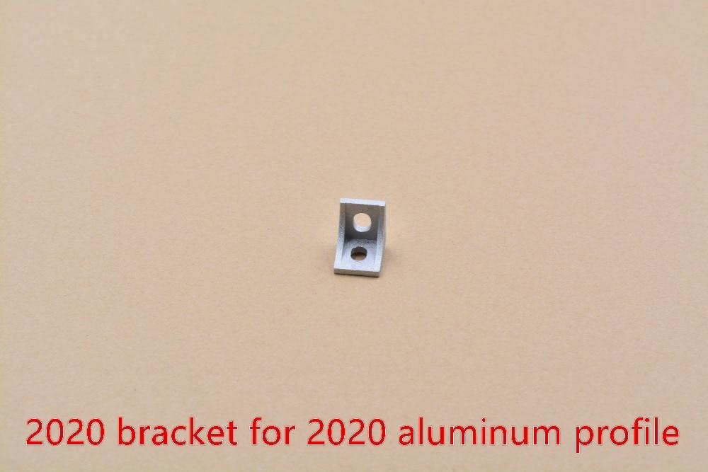 2020 corner fitting angle aluminum 17mmx20mm