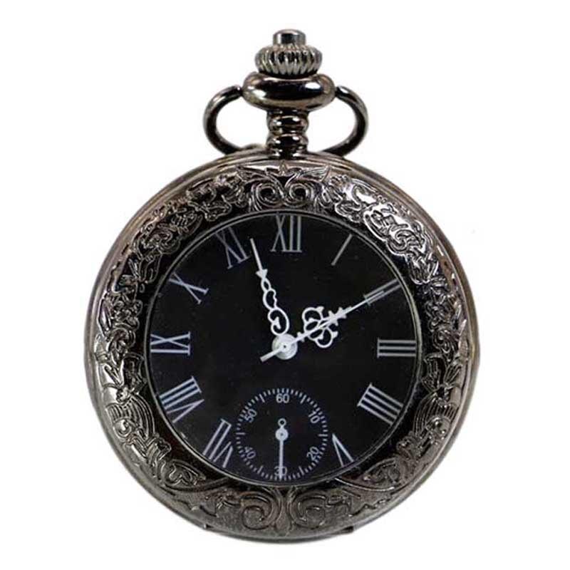 цена на Fashion Roman Antique Pocket Watch Men Retro Quartz Machinery Men Women Steampunk Clock relogio de bolso reloj mujer