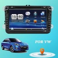 2din автомобильный DVD для VW GOLF 5 6 POLO PASSAT CC Jetta Tiguan блок EOS шаран SCIROCCO T5 CADDY с gps