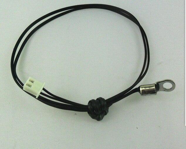 Fast Free ship 100pcs lot Temperature sensor copper ring 4 2MM 10K 5 3435 cable 500MM