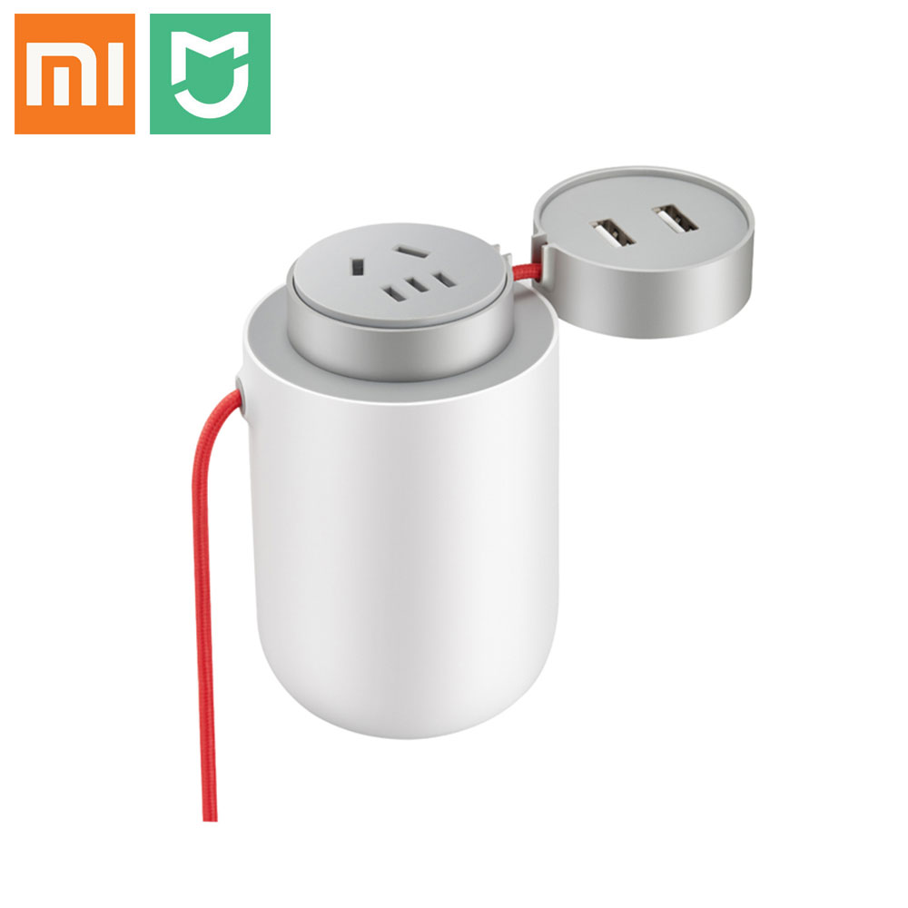 Original Xiaomi Mijia 100W Portable Car Power Inverter Converter DC 12V to AC 220V with 5V/2.4A Dual USB Ports Car Charger носки для мальчика mark formelle цвет темно синий 400k 262 b4 8400k размер 20