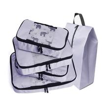 цена на Compression Packing Cube Travel Luggage Organizer/Waterproof/Small/Big Travel Bag Organizer/Hand Luggage/Large Capacity