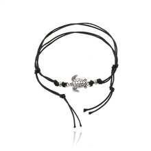2019 New Braided Rope Bracelet Turtle Animal Couple Models Three-Color Love Symbol Jewelry Gift