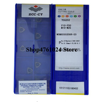 WCMX030208R-53 YBG202  10pcs U drill insert WCMX030208 fast drilling use for steel and stainless steel
