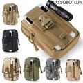 Doogee f7/f7 pro/x5/x5/x5 pro/dg310/dg750/dg850/dg800/homtom ht20 al aire libre pistolera táctica militar hip cinturón de cintura bolsas