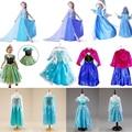 Elsa Dress Costume - Anna Princess Dress Kids Elsa Costume Kids Dress Children Dress Elsa/Anna Cosplay Costume For Kid