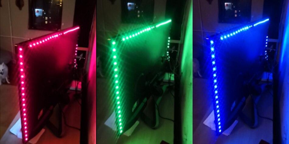 HTB14p7eaEzrK1RjSspmq6AOdFXau USB Mini 3key LED Strip DC 5V Flexible Light 60LEDs 50CM 1M 2M 3M 4M 5M SMD 2835 Desktop Decor Screen TV Background Lighting