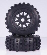 Baja 5 T / 5SC Rear Dirtland ruedas y neumáticos 2 unids 95159