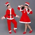 Niños Pijamas de Navidad Ropa de Navidad de Santa Claus Ropa de Juego de la Familia de La Familia Juego de Ropa Ropa De Navidad
