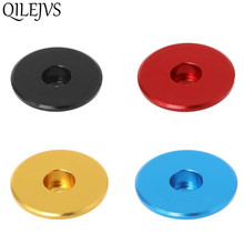 Bicycle Headset Cap Front Fork Stem Top Bowl Steering Tube Cover Aluminum Alloy Ultralight Colorful MTB Bike Parts