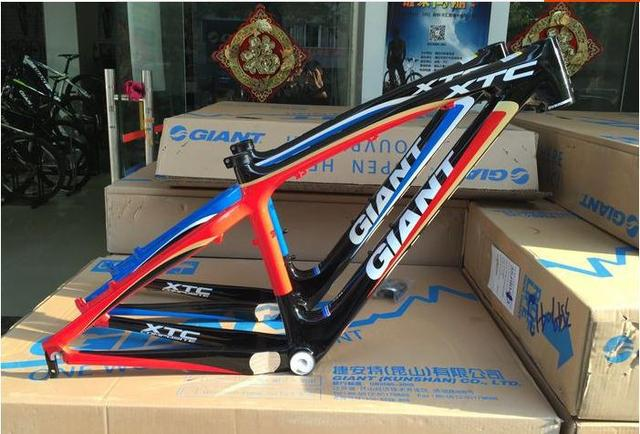 Giant XTC C1 composite carbon fiber frame 26er bike frame fat bike ...