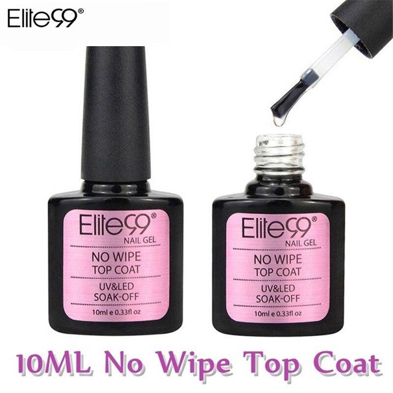 Топовое покрытие для ногтей Elite99, Модный Классический Гель-лак для ногтей, не вытирается, замачивается под UV/LED лампой, 10 мл