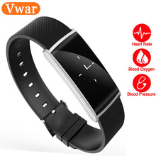 SGN108 Смарт-часы измерять кровяное давление/сердечного ритма фитнес-трекер Smart Браслет smartwatch для Android IOS Смарт Браслет