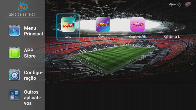 US $12 8 |3 Months Brazil apk IPTV subscription include Brazil live +vod  +playback for android box / mobile /TV-in Set-top Boxes from Consumer